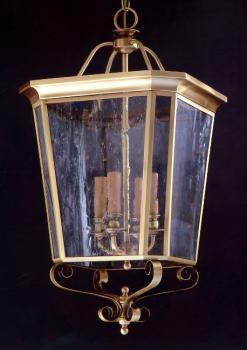 Lantern - Antique Brass Lantern