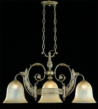 Crystal chandelier - Chandelier Roman Pewter-sand crystal