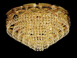 Crystal Flush 664 - Old Gold Flush, Full Leaded Crystal